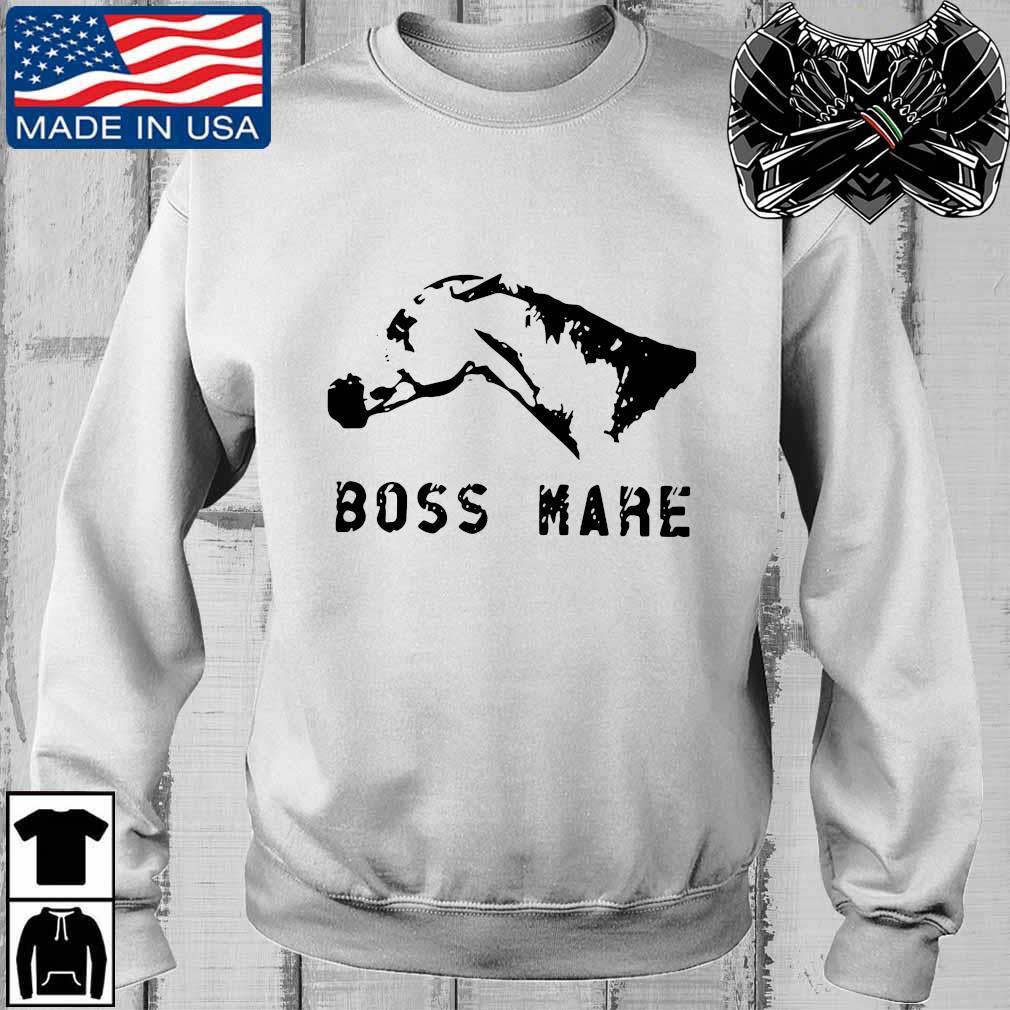 Horse boss mare s Teechalla sweater trang