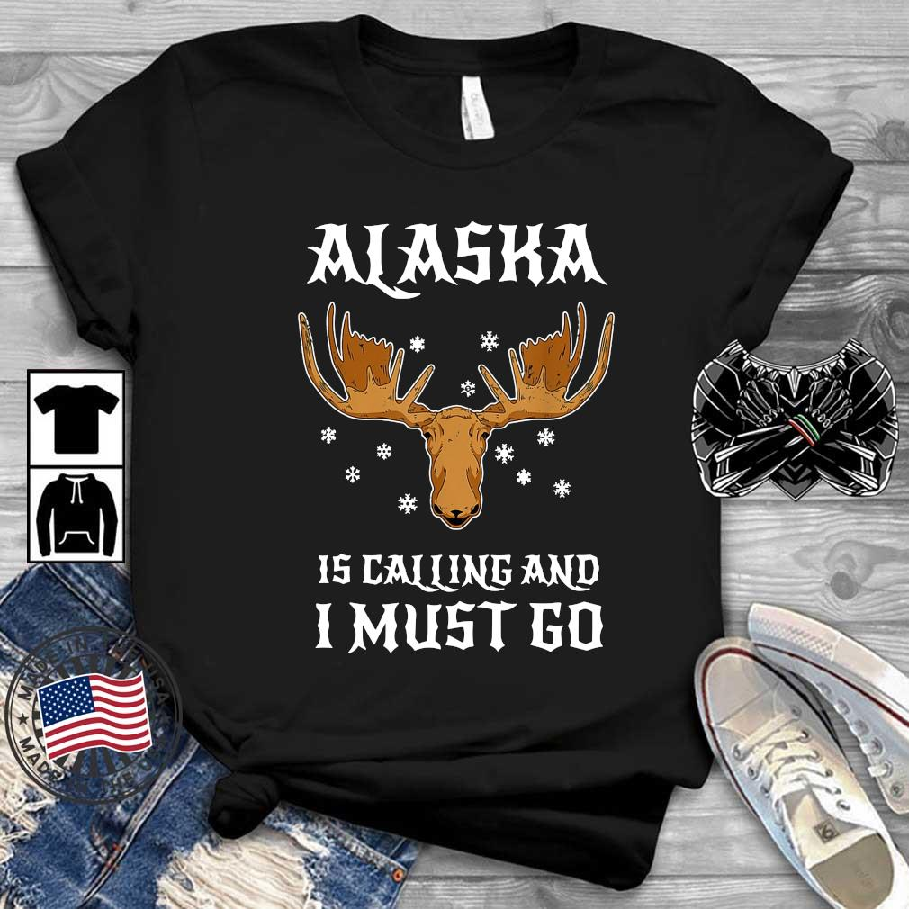 Reindeer head Alaska is calling and I must go Christmas sweater